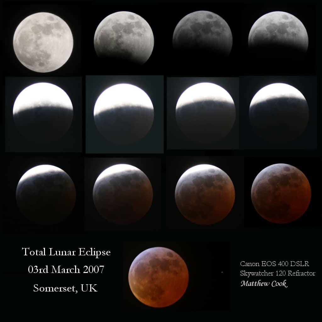 Total Lunar Eclipse - 03 March 2007