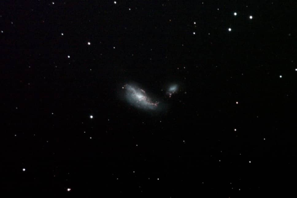 The Cocoon Galaxy (NGC 4490 & NGC 4485)