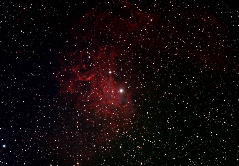 Flaming Star Nebula - IC405