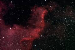 The Great Wall in Cygnus (NGC 7000)