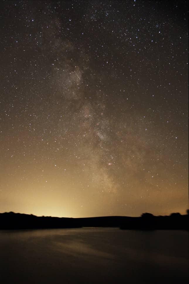 The Milky Way at Wimbleball Lake