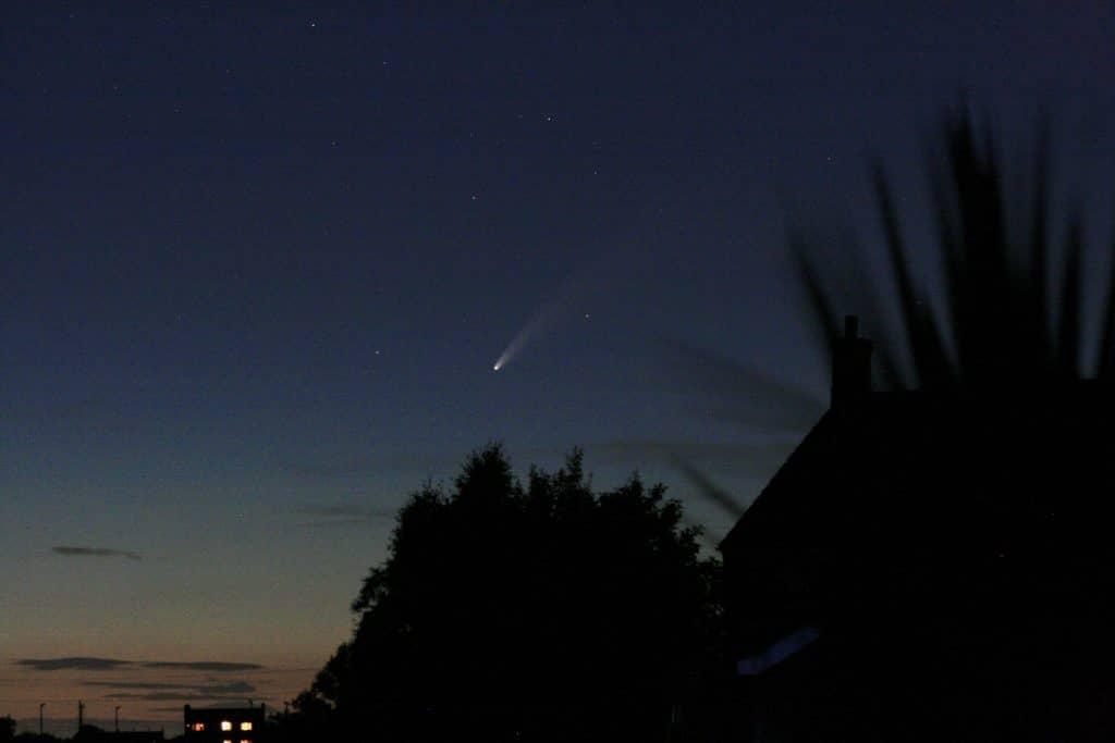 Comet C/2020 F3 (NEOWISE) - Bidgwater